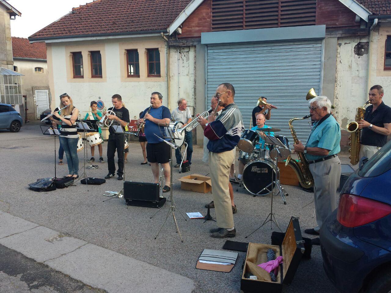 Répétition de quartier - Rue Joffre