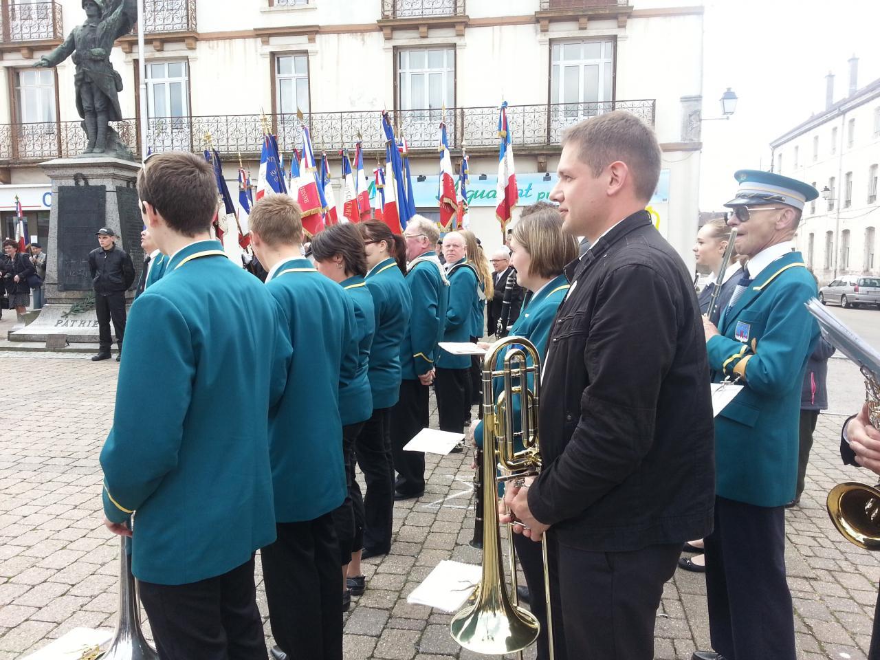 Congrès départemental de la Légion Vosgienne - Bruyères - 02.06.13