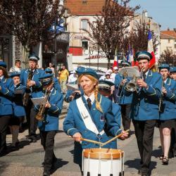 Cérémonie du 8 mai 1945 - Bruyères - 2008