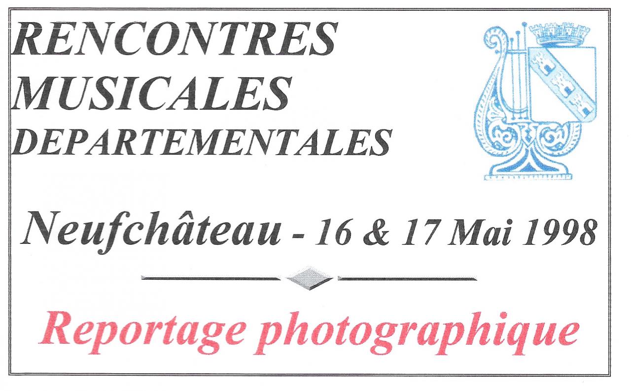 RMD - 17&18 mai 1998 - Neufchâteau