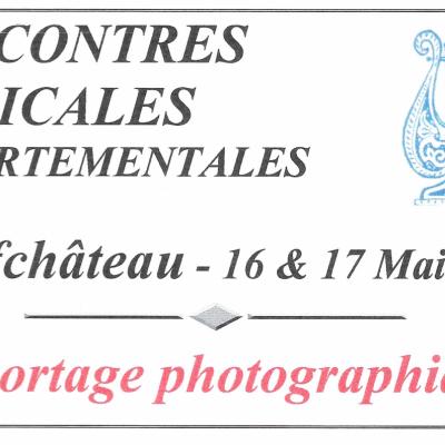 Rencontres Musicale Départementales - Neufchâteau - mai 1998